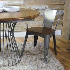 Chayne Metal Dining Chair