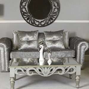 Chic Mirrored Coffee Table