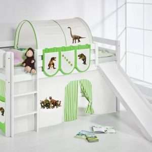 Curt Mid Sleeper Bed With Slide