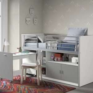 Dewitt Mid Sleeper Bed With Desk