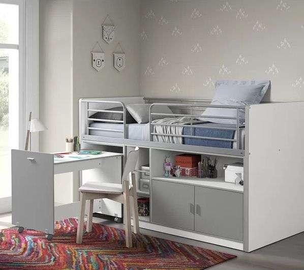 Dewitt Mid Sleeper Bed With Desk