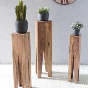 Kada 3 Piece Plant Stand