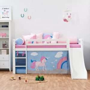 Unicorn Mid Sleeper Bed