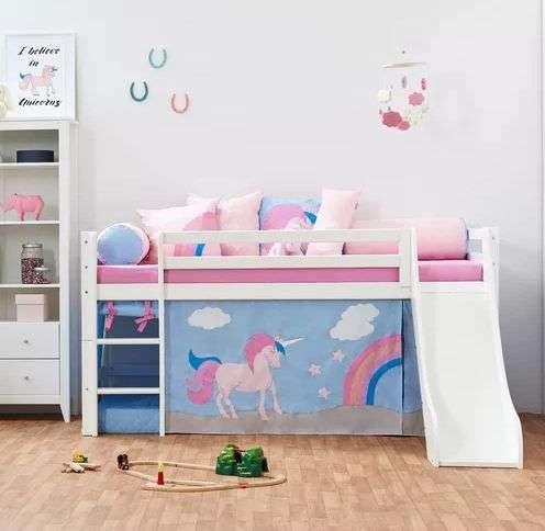 Unicorn Mid Sleeper Bed